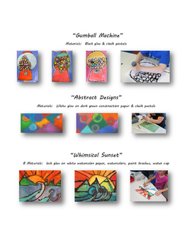 FREEUse Glue to Create Great Art!