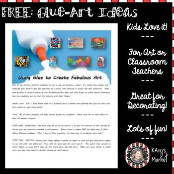 Freeuse Glue To Create Great Art