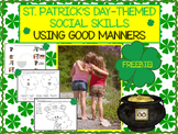 FREEBIE: Using Good Manners St. Patrick's Day Social Skills