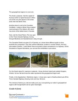 Using Google Earth to Teach Ontario Social Studies