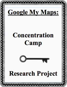 Using Google My Maps To Learn About Concentration Camps In Poland.