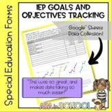 Using Google Sheets to track student data