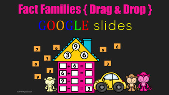 Using Google Slides to learn about ~FACT FAMILIES~