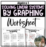 Solving Linear Systems by Graphing (Practice Worksheet)