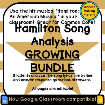 Using Hamilton in the Classroom: Growing Bundle