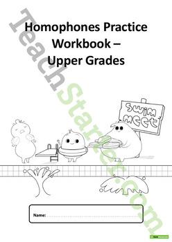 Using Homophones Unit Plan – Upper Grades
