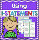 Conflict Resolution Activities - Using I Statements