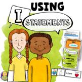 "Using ""I"" Statements Lesson Plan"