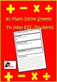 Using Idioms in Math - Help ESL Students (and Others) to Understand Idioms