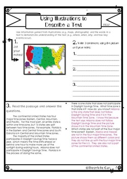 Using Illustrations to Understand Informational Texts- Freebie