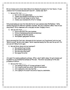 Using Inferences Worksheet