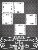 Using Inverse Trigonometric Ratios Puzzle