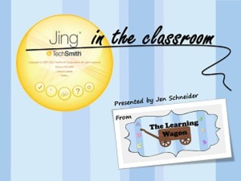 Using Jing in the Classroom