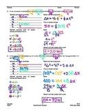 Kinematics: Using Kinematic Equations