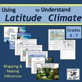 Using Latitude to Understand Climate; slideshow; lesson pl