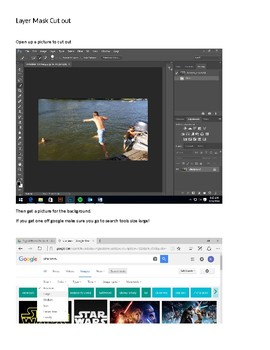 Using Layer Mask in Photoshop to cut out objects