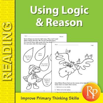 Using Logic & Reason: Primary Thinking Skills