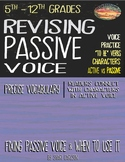 REVISING: Writing with an ACTIVE VOICE - Step-by-Step Lessons & Examples