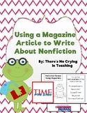 Using Magazine Articles to Write About Nonfiction