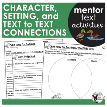 Make Way For Ducklings Writing Teaching Resources Teachers Pay