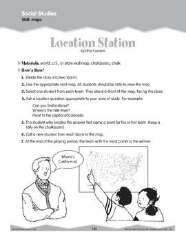 Using Maps (Ten-Minute Activities)