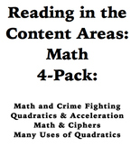 Reading in the Content Areas:  Using Math in the Real Worl