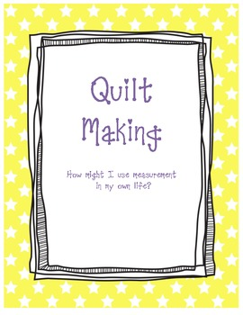 Using Math with Quilt (measurement included)