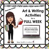 Using Meet the Artist Biography & Art Units in Class & At