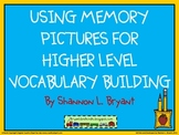 Higher Level Vocabulary Building Using Memory Pictures (SAT Vocab)