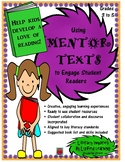 Using Mentor Texts to Engage Student Readers