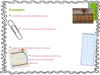 Using Metric Units of Length (5th EnVision Math Power Point)