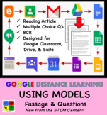 Using Models in Science - Google Doc - Article & Questions - Distance Learning