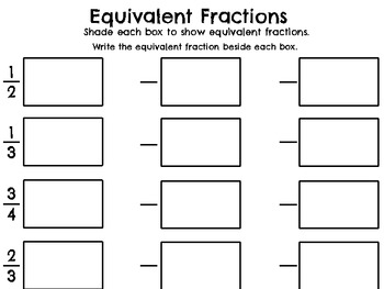 Using Models to Understand Fraction Skills - Identify-Compare-Equivalent-Simplfy