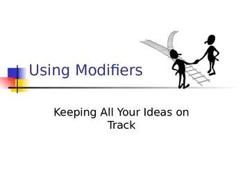 Using Modifiers