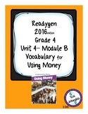 Using Money Grade 4 Readygen