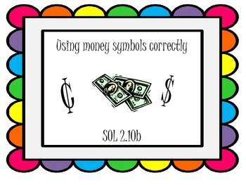 Using Money Symbols Correctly