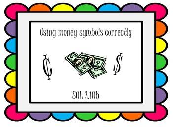 Using Money Symbols Correctly