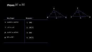 Using More than One Pair of Congruent Triangles - PowerPoint Lesson (4.5)