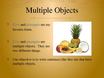 Using Multiple Objects