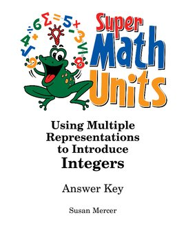 Using Multiple Representations to Teach Integers