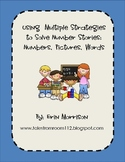 Using Multiple Strategies to Solve Number Stories