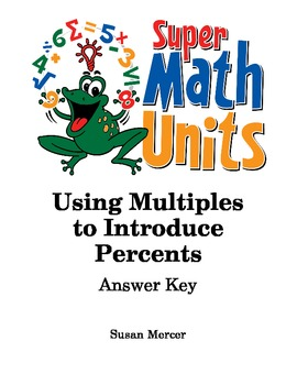 Using Multiples to Introduce Percents