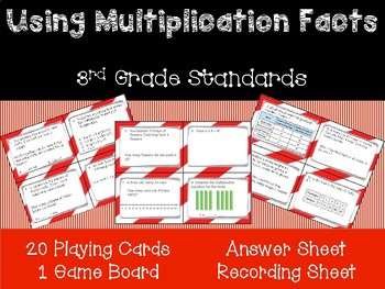 Go Math Chapter 5- Using Multiplication Facts Game