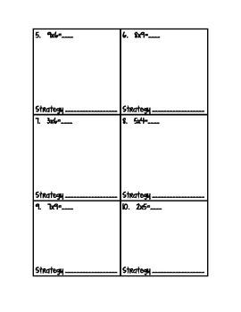 Using Multiplication Strategies