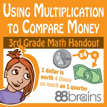 Using Multiplication to Compare Money pgs. 14-16 (CCSS)