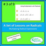 Algebra I:  Multiplying Radical Expressions
