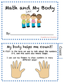 Using My Body to Count - Printable Workbook : Count, Measu