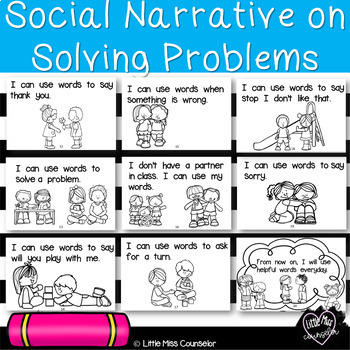 Using My Words:  Beginning Reader on Solving Problems