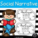 Using My Words:  Beginning Reader on Solving Problems Soci