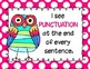 Using My Writer's Eye: I SEE Posters (Owls)